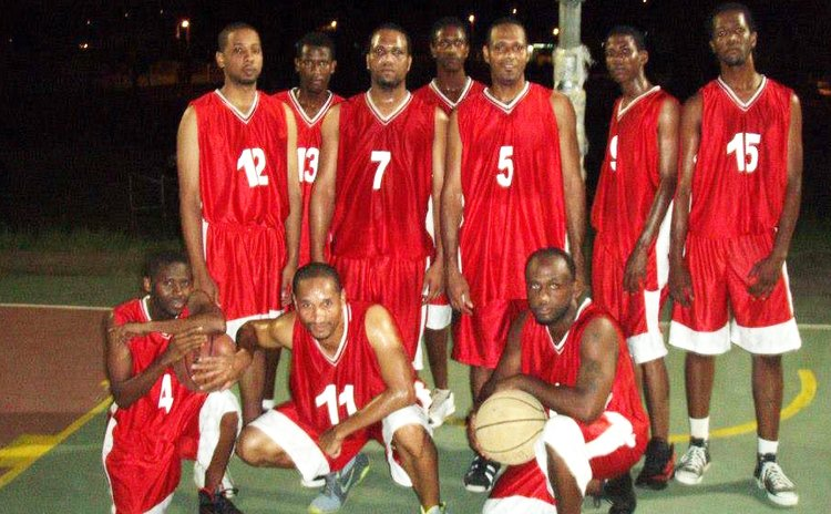 La Plaine Avengers Basketball Team, 2013 Photo courtesy LA Knights Facebook Page