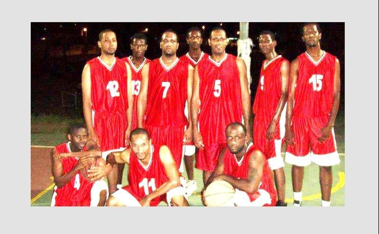La Plaine Avengers Basketball Team, 2013 Photo courtesy LA Knights Facebook Page