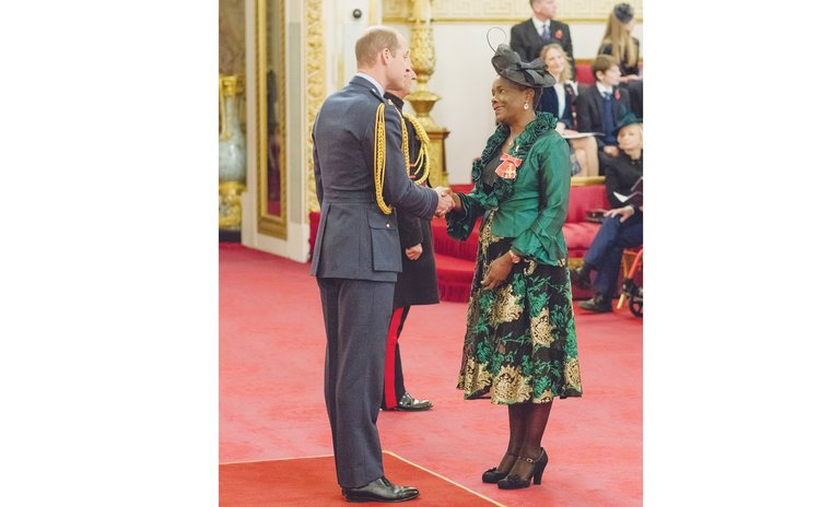 Laura Serrant receives OBE