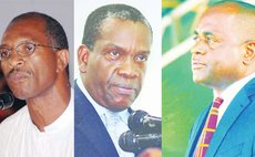Left to Right: Gregoire, Linton and Skerrit