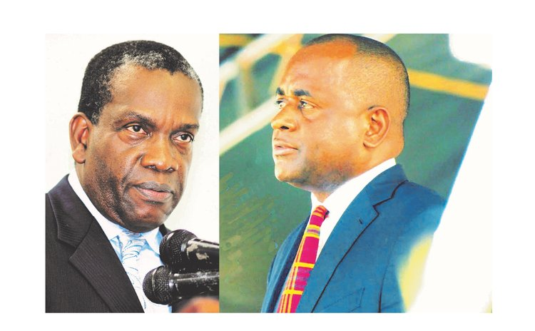 Prime Minister (Roosevelt Skerrit) and Leader of the Opposition( Lennox Linton)
