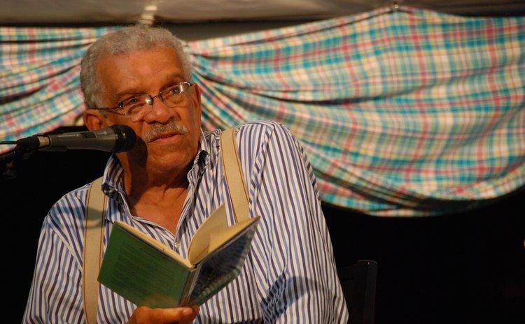 """""""In his own words"""":Derek Walcott reads poetry at the NILF&BF in 2008"""