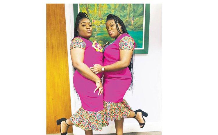 Twins Lizanne and Letecia Roach