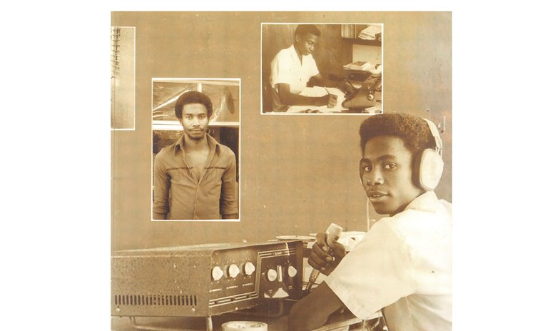 Mikey's early days as a broadcaster