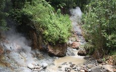 Major Tourism resource: Sulphur Springs in the Roseau Valley