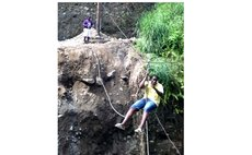 Man slings across Boetica gorge