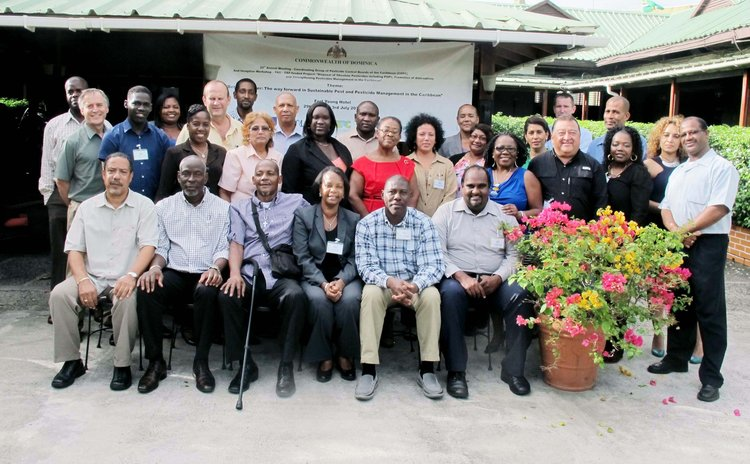 Pesticide control boards of the Caribbean meeting in Dominica