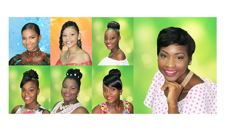 Miss Teen Dominica Contestants