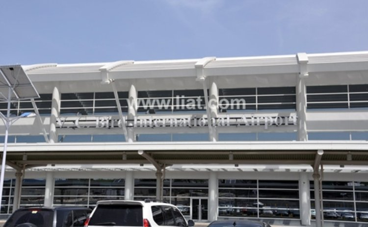 New terminal at the V. C. Bird International, Antigua