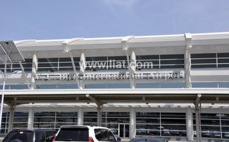 New terminal at the V. C. Bird International, Antigua