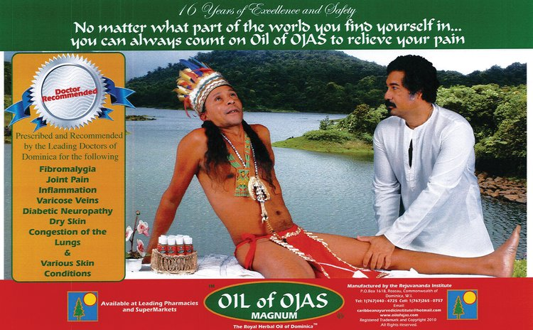 Oil of Ojas prootional poster