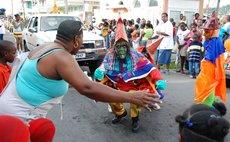 Confronting Colihaut Ban Mové at Carnival