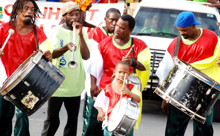Traditional Musicians at  opening of carnival