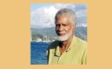 Patrick Pemberton played, coached and managed in Dominica's basketball. Photo by Yvonne Pemberton