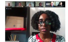 """Dr. Violet Cuffy from """"Making Connection Show"""""""