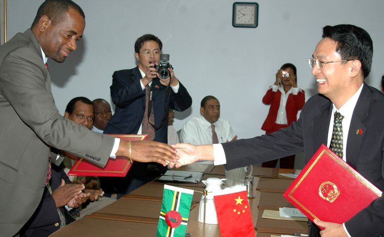 Dominica and China sign agreement