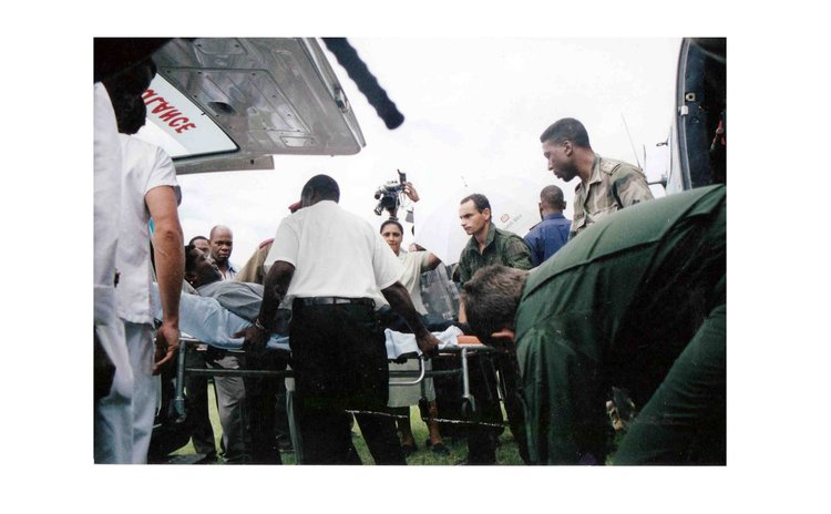 Medics place PM Pierre Charles in air ambulance on way to Martinique
