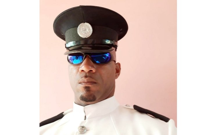 Former police officer Stanley Toussaint