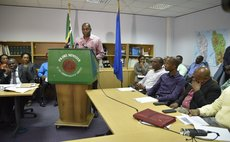Prime Minister Skerrit and some members of his Cabinet