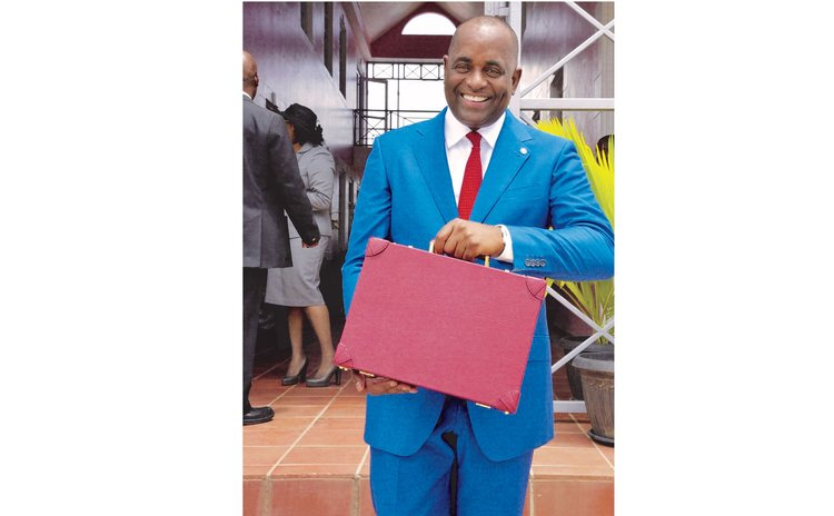 Prime Minister Skerrit with his 2016 budget  address