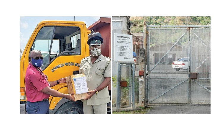 Supplies for prison superintendent and prison gates