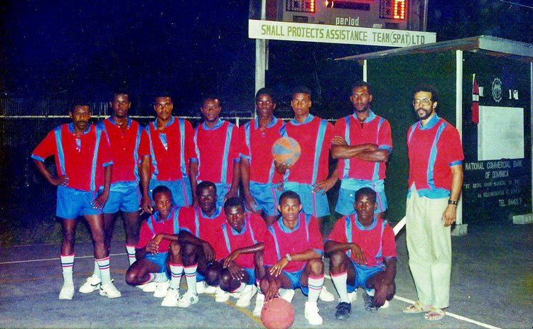 This 1980s La Plaine team was one of many that participated in the junior Divisions of the national basketball league