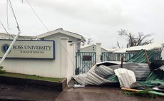 Ross University School of Medicine, just after Hurricane Maria