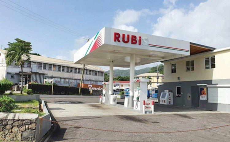 Rubis gas station on Victoria Street