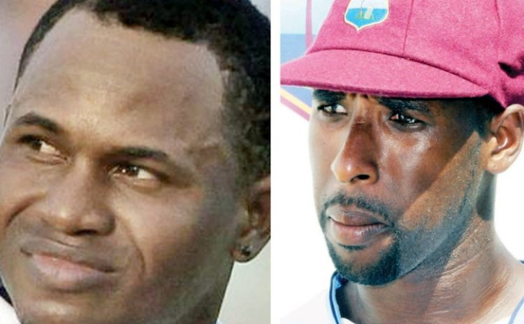Marlon Samuels and Shane Shillingford