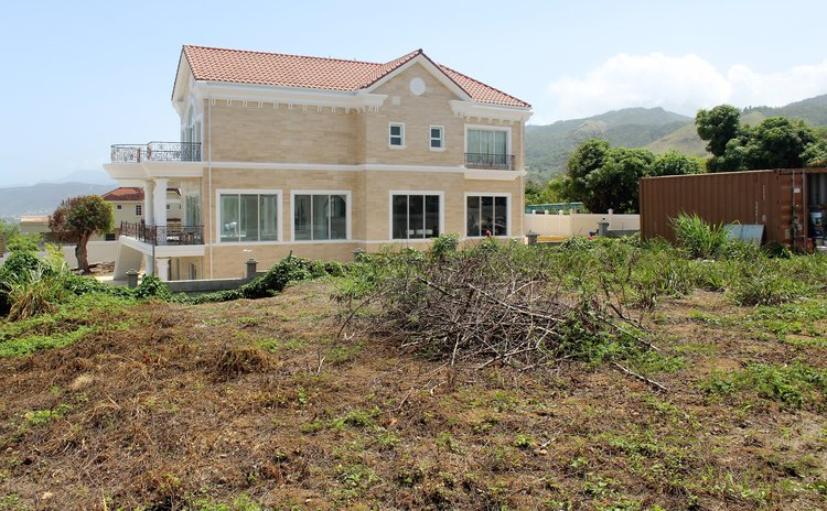 Prime Minister's residence at Morne Daniel