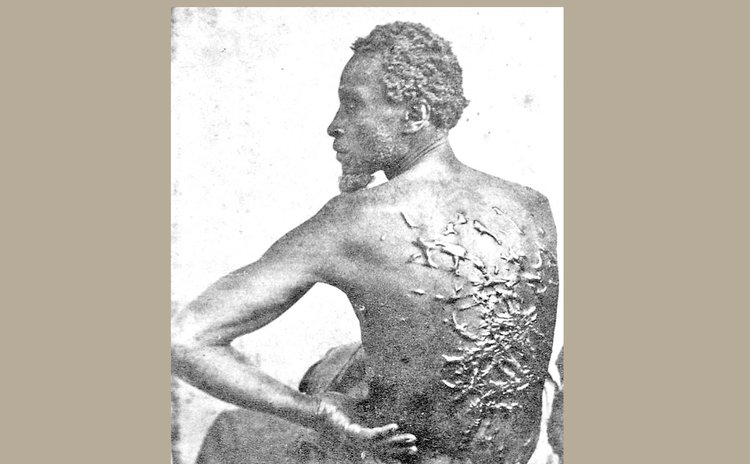 Wikipedia photo: Showing brutality of slavery