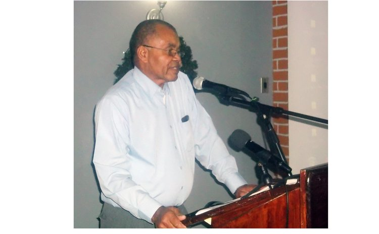 Stuart Paris, president of the Builders and Contractors Association of Dominica