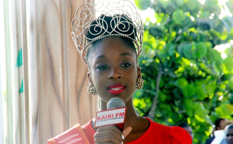 Tasia Floissac Miss Dominica 2016
