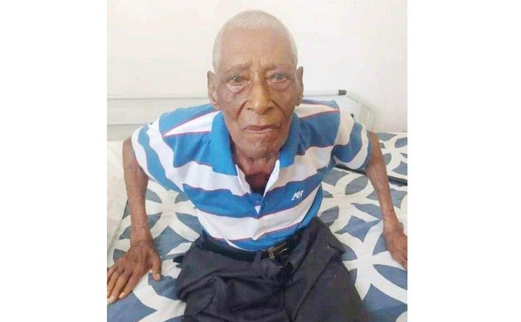 Centenarian George Tavernier