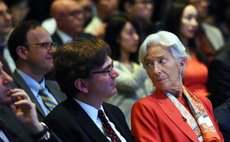 The International Monetary Fund (IMF) Managing Director Christine Lagarde