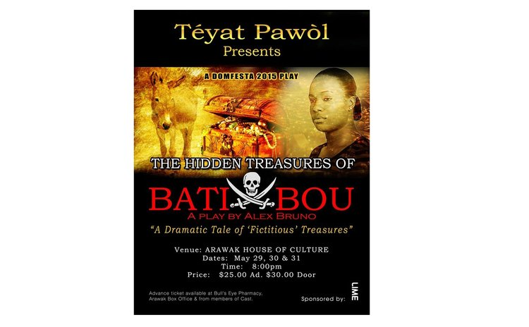 Poster of Treasures of Bat Bou, aplay by Alex Bruno