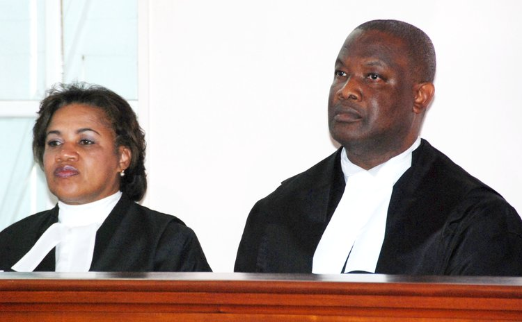 Two membersof the Eastern Caribbean Supreme Court
