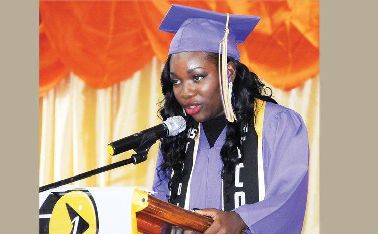Joanice George, valedictorian