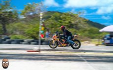 Dominican biker races in St. Lucia