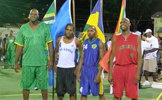 Windwards Basketball Team Reps.See story for photo caption