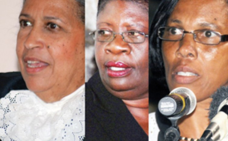 Women in Dominica's parliament