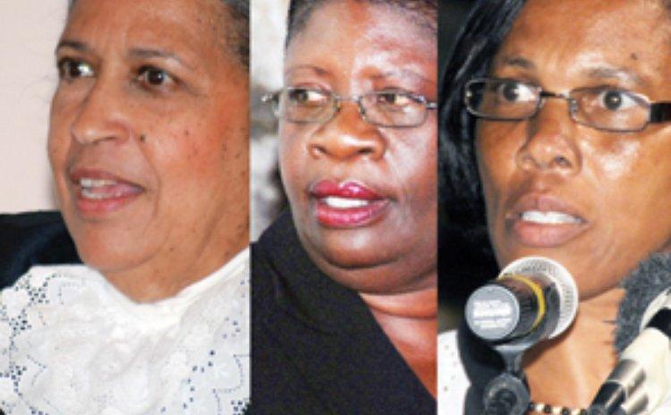 Women in Dominica's parliament