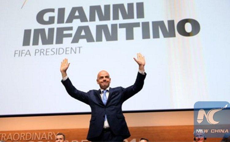 New FIFA president