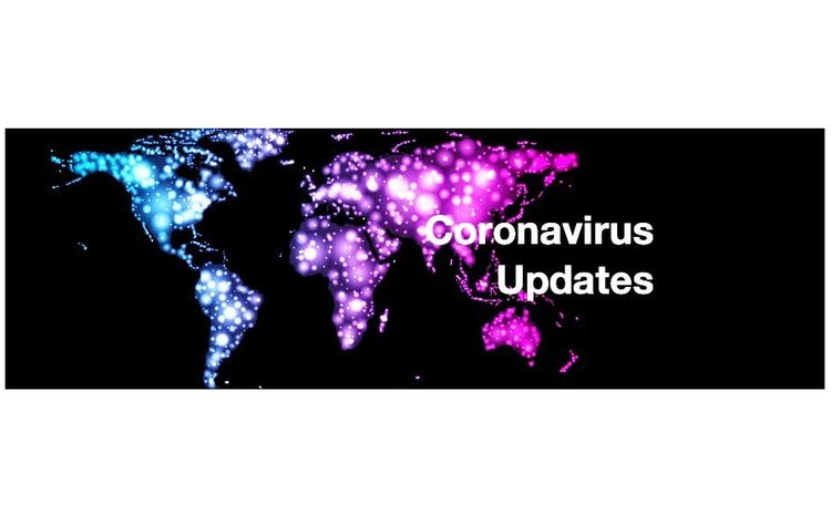 Coronavirus news update header