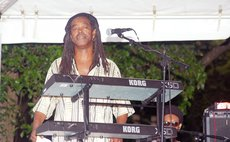 Fitzroy Williams perfoms at a show in 2005