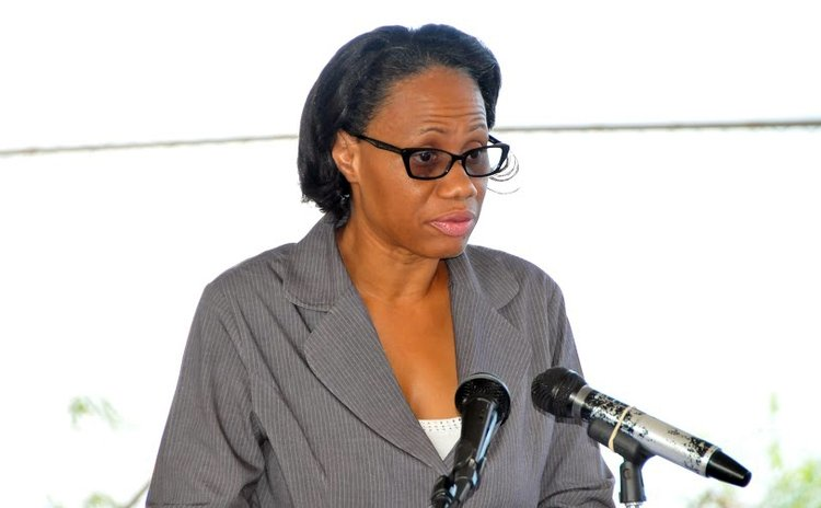 Chief Librarian Vernanda Raymond