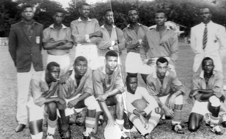 Dominica's  1965 football team
