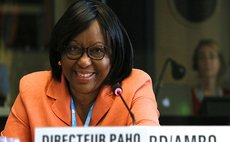 Pan American Health Organisation Director Dr. Etienne