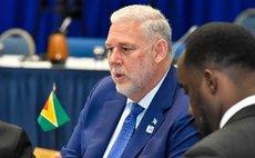 St Lucian prime minister Allen Michael Chastanet