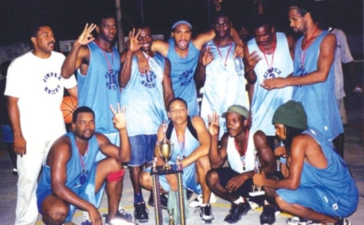 Kincks basketball team (see story full photo caption